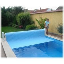Navíjecí systém lamelového krytu bazénu HAND DRIVE ruční nadhladinové