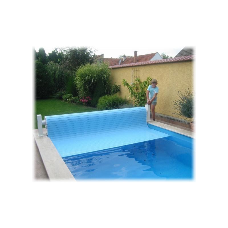 ASPAR Navíjecí systém lamelového krytu bazénu HAND DRIVE ruční nadhladinové do max. šíře 3 m s montáží
