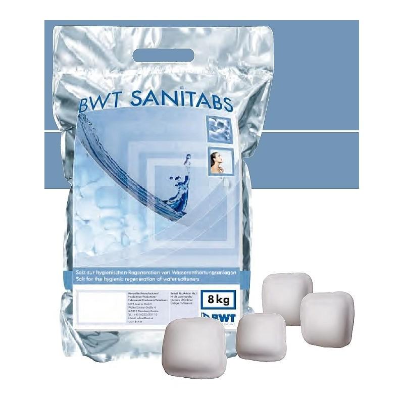 BWT Regenerační tabletová sůl SANITABS, 8 kg