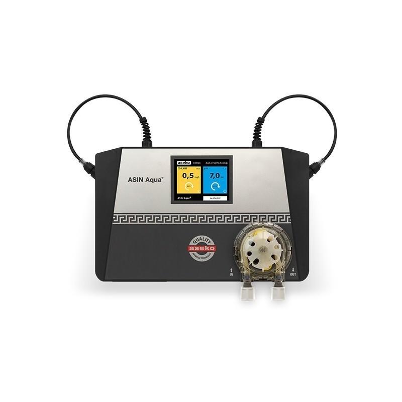 ASEKO ASIN AQUA S REDOX - chlorový automat pro řízení kvality bazénové vody