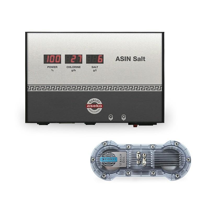 ASEKO ASIN SALT - Extrémně výkonný elektrolyzér pro dezinfekci bazénové vody