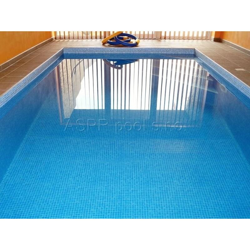 ASPR pool Fóliování bazénu 4x8x1,5m těžká mozaiková fólie