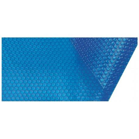 Solární plachta na bazén 3,5x8,5m, 360 mic modrá