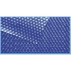 Solární plachta na bazén 5x10m, 500 mic modrá