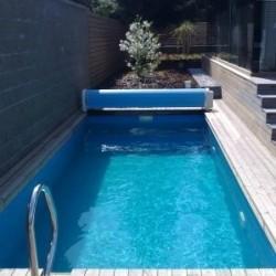 Bazén Block-Kit 7 x 3,5 x 1,25 m modrý