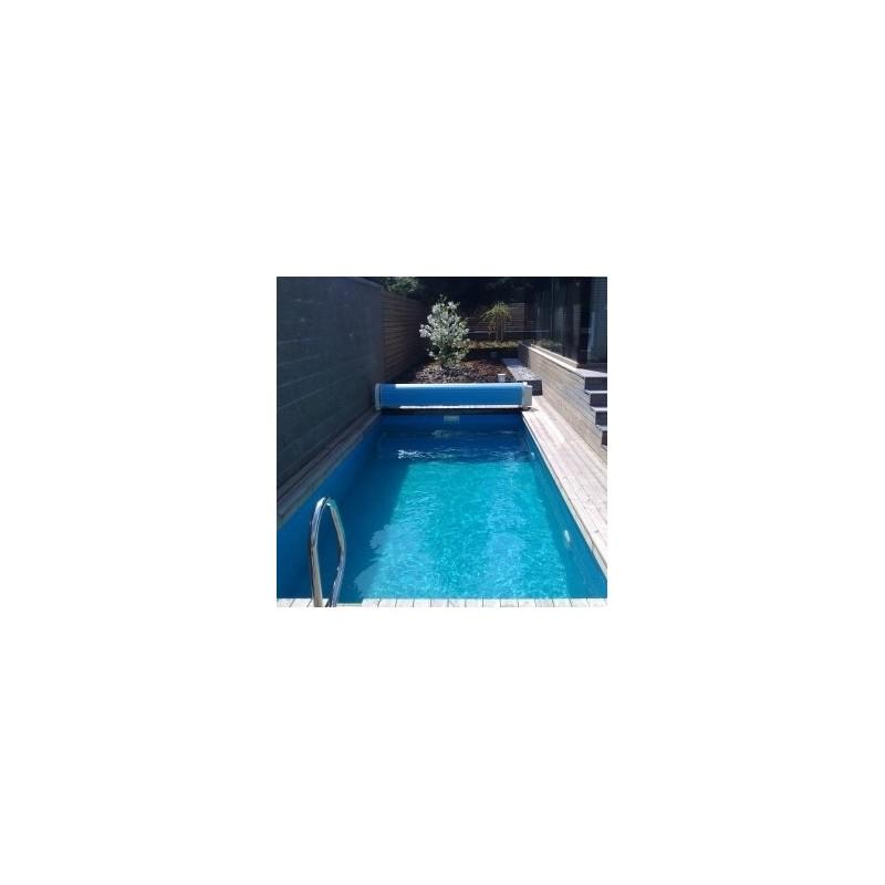 ASPR pool Bazén Block-Kit 8 x 4 x 1,25 m modrý
