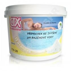 CTX-20 granulát zvyšující pH, pH plus 6kg