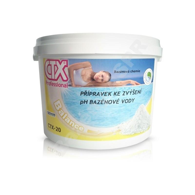 ASTRALPOOL CTX-20 6kg prášek zvyšující pH pH+