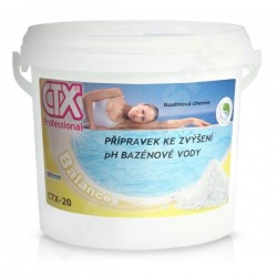 CTX-20 granulát zvyšující pH, pH plus 12kg