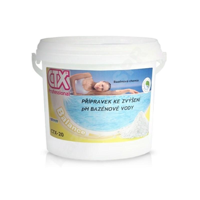ASTRALPOOL CTX-20 pH+ 12kg prášek zvyšující pH