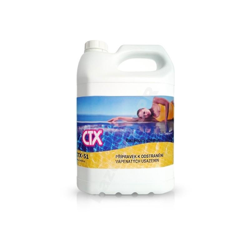 ASTRALPOOL CTX-51 5l k odstranění vápenatých usazenin extra