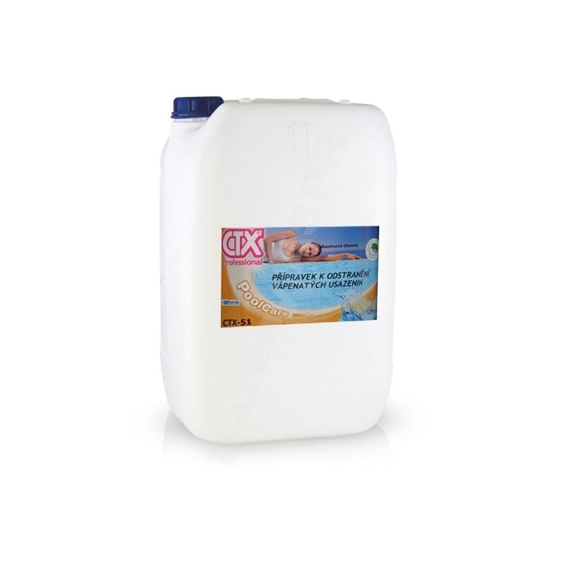 ASTRALPOOL CTX-51 25l k odstranění vápenatých usazenin extra