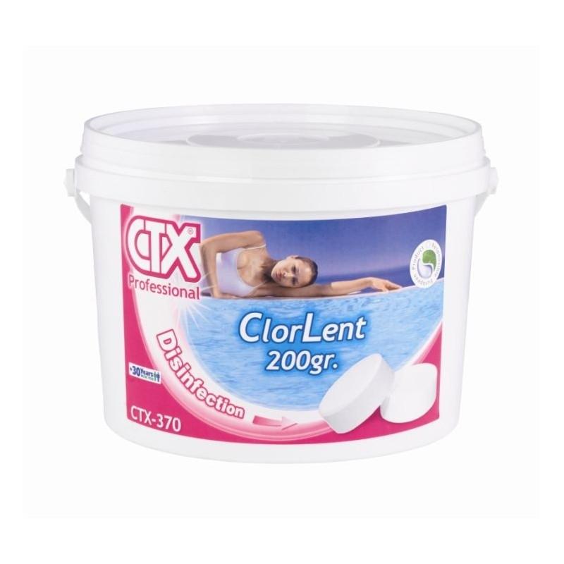 ASTRALPOOL CTX-370 5kg organický pomalurozpustný chlor 200g tablety
