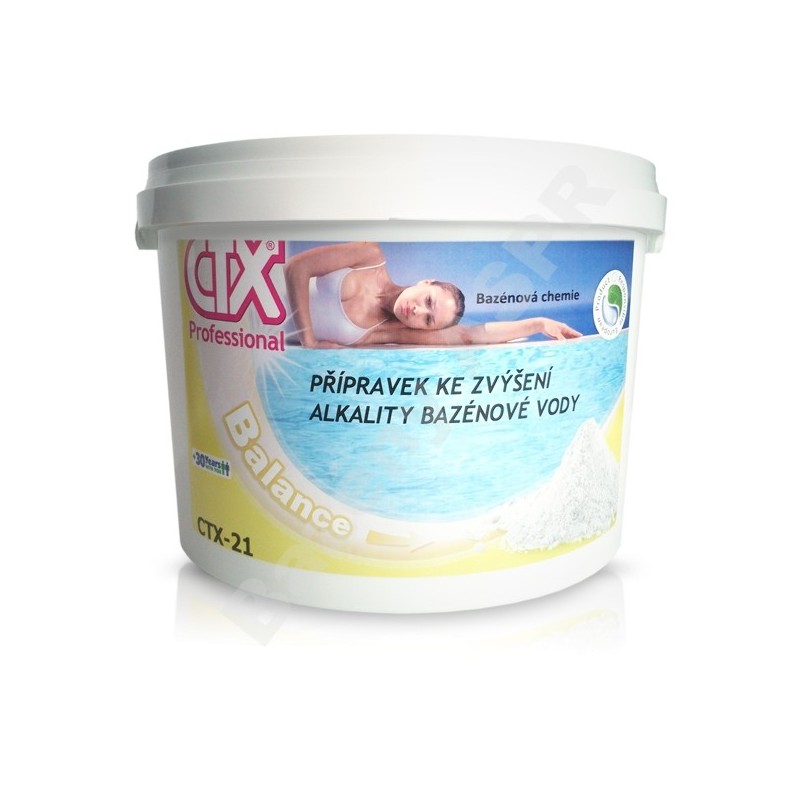 ASTRALPOOL CTX-21 6kg prášek na zvýšení alkality vody