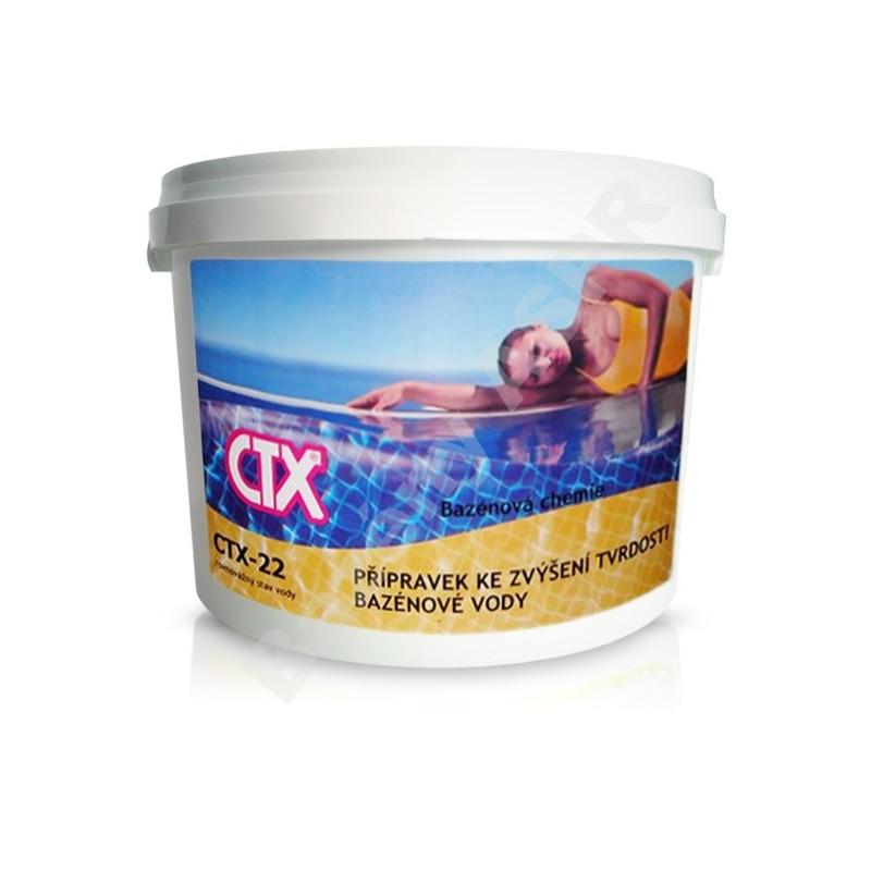 ASTRALPOOL CTX-22 5kg prášek zvyšující tvrdost vody