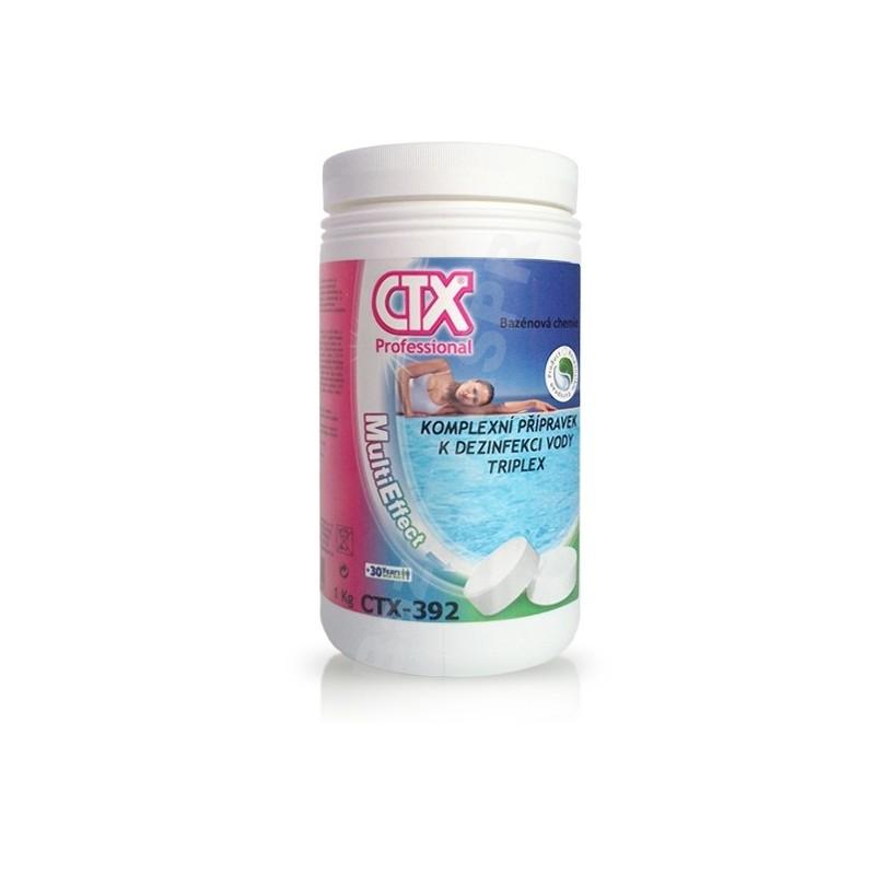 ASTRALPOOL CTX-392 TRIPLEX - 200g, 1kg trojkombinace velké tablety