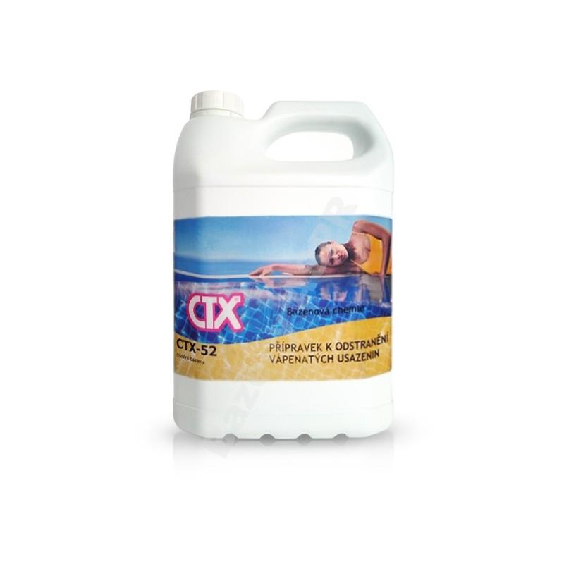 ASTRALPOOL CTX-52 GELACID 5l gel k odstranění vápenatých usazenin