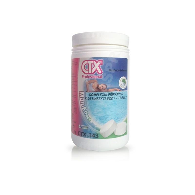 ASTRALPOOL CTX-343 TRIPLEX 1kg trojkombinace malé tablety 20gr