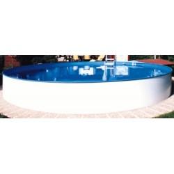 Bazén MILANO 8 x 1,5 m fólie modrá 0,6 mm