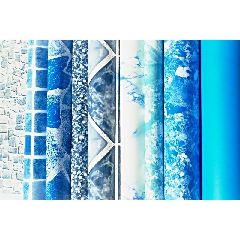 BWT Náhradní bazénová fólie kruh 8,0x1,2m 0,6mm modrá