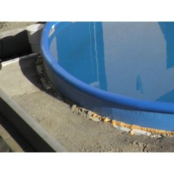 Vrchní obruba bazénu NEZMAR průměr 4 m