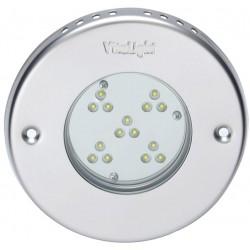 Silné LED světlo 15 LED -- 7 100 lm, 24 V, bílé
