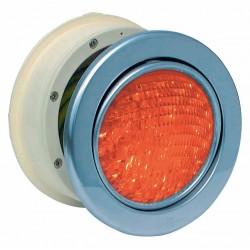 Podvodní světlomet MTS LED RGB - 16W, nerez
