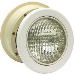 Podvodní světlomet MTS LED bílý - 16W, bílý ABS plast