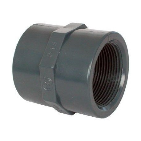 "PVC tvarovka - Mufna 3/8"" int."