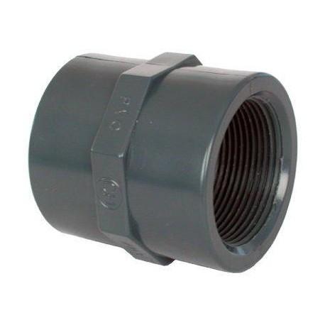 "PVC tvarovka - Mufna 1"" int."