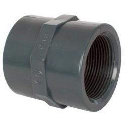 "PVC tvarovka - Mufna 16 x 3/8"""