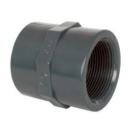 "PVC tvarovka - Mufna 90 x 3"""