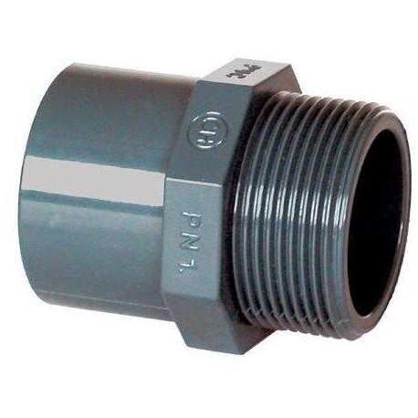 "PVC tvarovka - Přechodka 20--16 x 3/8"" ext."