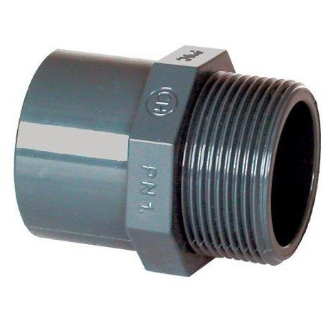"PVC tvarovka - Přechodka 32–25 x 3/4"" ext."