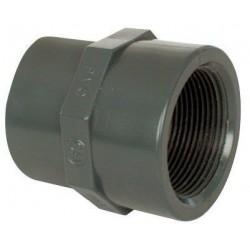 """PVC tvarovka - Mufna přechod. red. 32--25 x 1"""" int."""