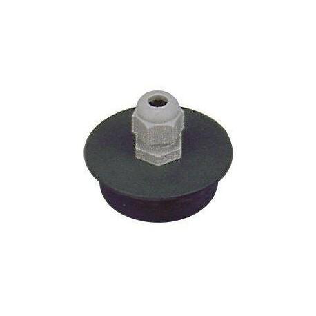 PVC tvarovka - Přechodka-PUK 50/Pg9 s vývodkou