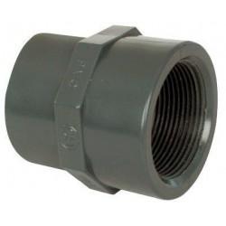 """PVC tvarovka - Mufna přechod. red. 90--75 x 3"""" int."""