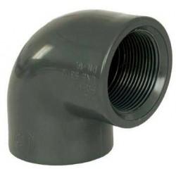 """PVC tvarovka - Úhel 90° 32 x 1"""" int."""