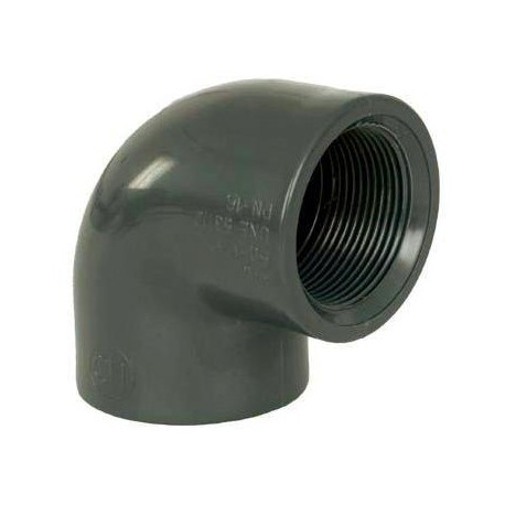 """PVC tvarovka - Úhel 90° 63 x 2"""" int."""