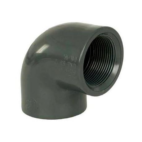 """PVC tvarovka - Úhel 90° 90 x 3"""" int."""