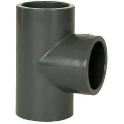 PVC tvarovka - T-kus 90° 90 mm