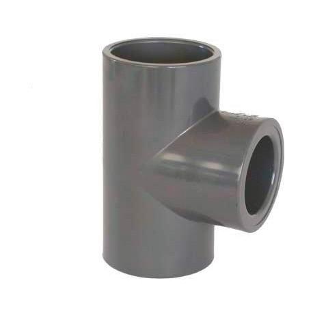 PVC tvarovka - T-kus 90° redukovaný 63 x 50 mm