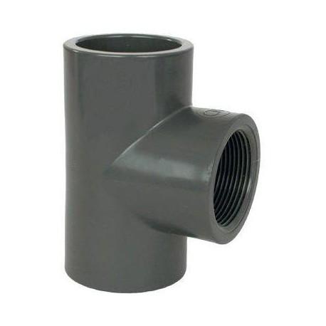 "PVC tvarovka - T-kus 90° 20 x 1/2"" int."