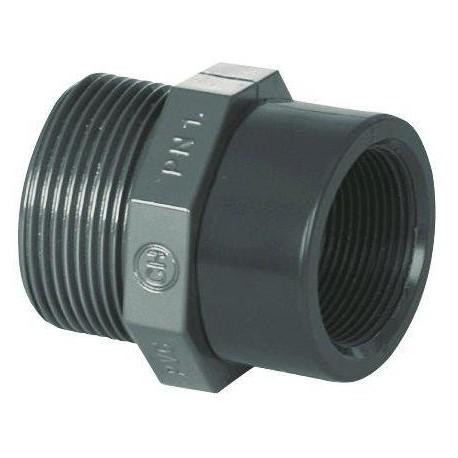 "PVC tvarovka - Redukce 1/2"" ext. x 3/8"" int."