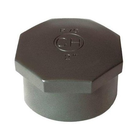 """PVC tvarovka - Zátka 1/2"""" int."""