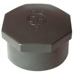 """PVC tvarovka - Zátka 3/4"""" int."""