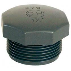 "PVC tvarovka - Zátka 1/2"" ext."