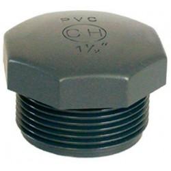 "PVC tvarovka - Zátka 3/4"" ext."