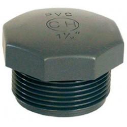 "PVC tvarovka - Zátka 1 1/4"" ext."