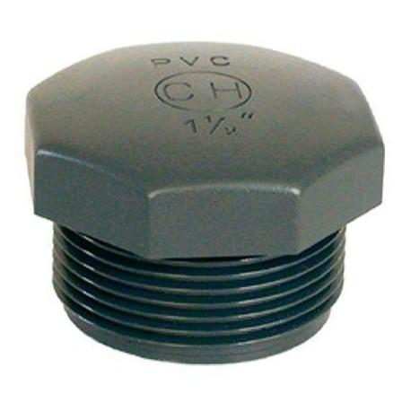 "PVC tvarovka - Zátka 1 1/2"" ext."